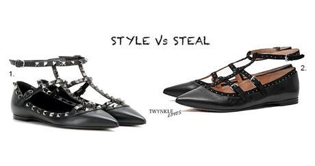 STYLE VS STEAL: VALENTINO ROCKSTUD NOIR