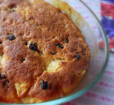 Apple Butterscotch Pudding Cake