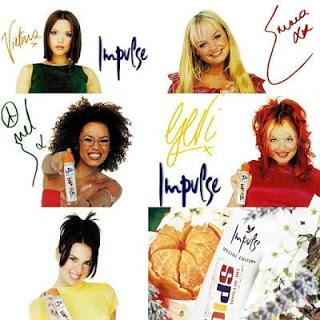 Spice Girls Impulse Spray
