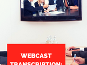 Webcast Transcription: Introduction