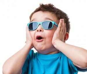 Children also need sunglasses