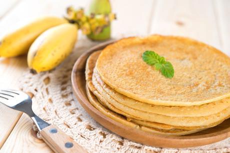 Banana Paleo Pancakes Featured Image