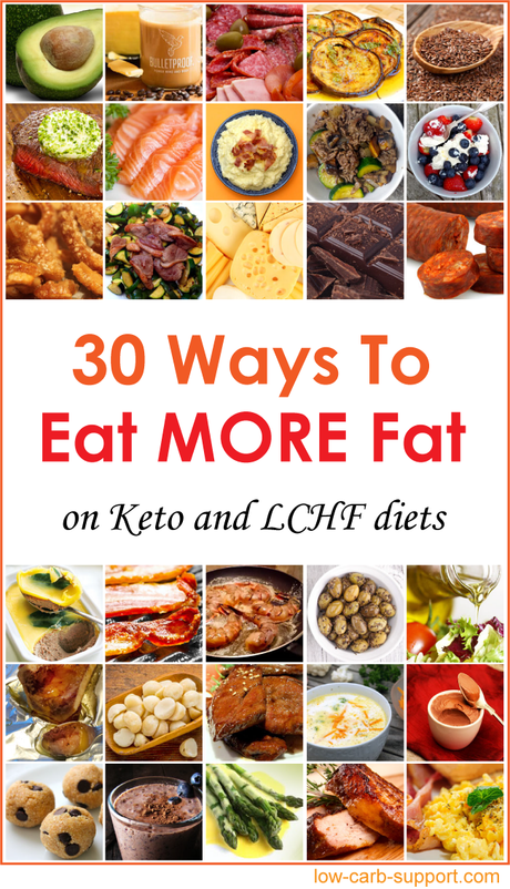 30 Ways to Eat More Fat