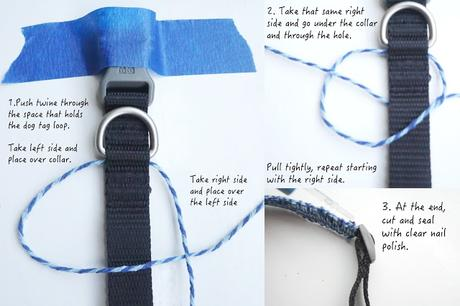 DIY: Matching Square Knot Bracelet and Dog Collar