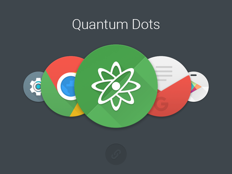 Image result for Quantum Dots – Icon Pack apk