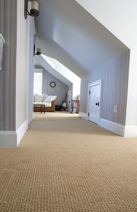 Proof wall to sall carpeting can be gorgeous