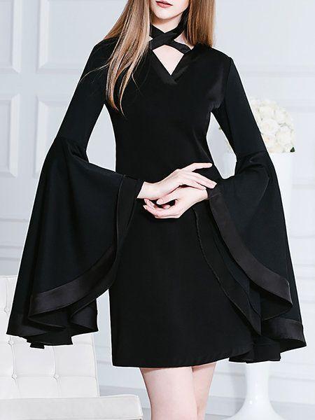 halloween, costume, stylewe, black dress, sex kitten
