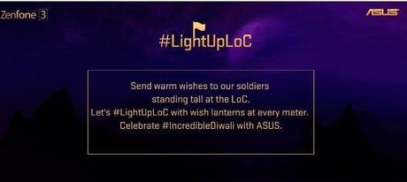 #LightUpLoC : Send Diwali wishes to soldiers