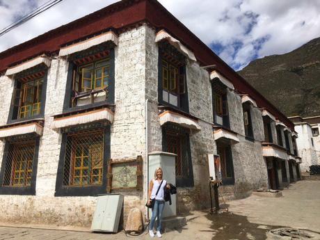Travelling to Sera Monastery Tibet