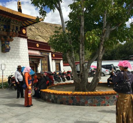 Visiting Sera Monastery Tibet
