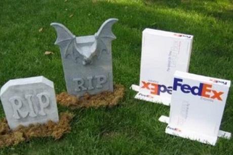 Parcel Box Headstones