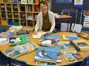 AUTHOR VISITS PORTERVILLE, Week