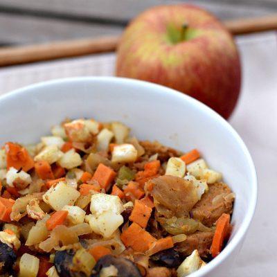 Vegan Sauerkraut Casserole