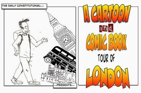 A Cartoon & Comic Book Tour Of London