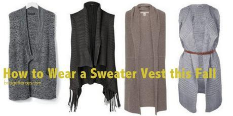 Throwback Thursday: Sweater Vests and Bib Necklaces 2.0