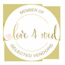 Member of Love4Wed Selected Vendors