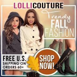 Trendy Fall Fashion at LolliCouture.com!