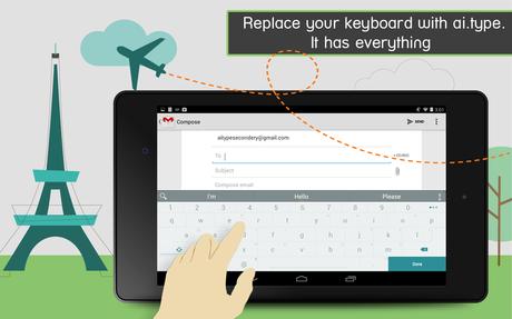 ai.type Keyboard  Plus - screenshot
