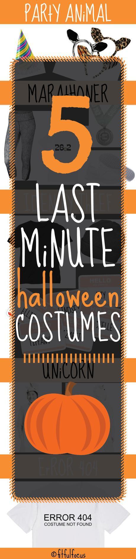 Five Last Minute Halloween Costumes