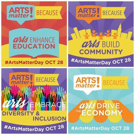 Happy #ArtsMatterDay!