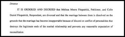 Two divorce cases: Summer White and Melissa Moore