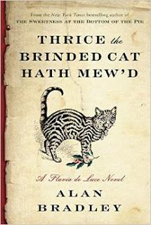 Review:  Thrice the Brinded Cat Hath Mew'd by Alan Bradley