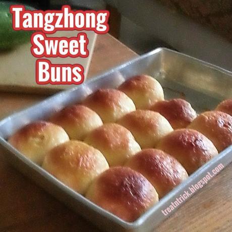 Tangzhong Sweet Buns Recipe @ treatntrick.blogspot.com