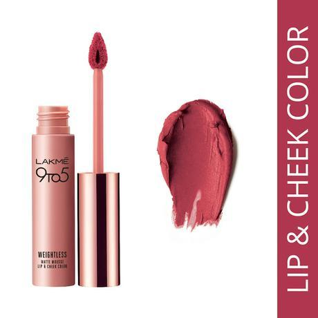 Lakme's First Lip and Cheek Colour - Plum Feather, Only Rs. 575/-