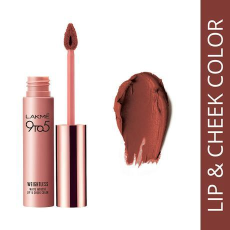 Lakme's First Lip and Cheek Colour - Burgundy Lush, Only Rs. 575/-