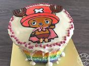 'One Piece' Chopper Rainbow Cake