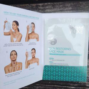 Karuna Luxe Skin Restoring Face Mask