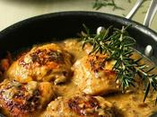 Creamy Chicken with Lemon Rosemary
