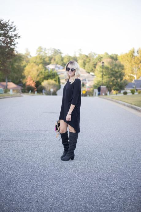 Fall style with Hole in Her Stocking