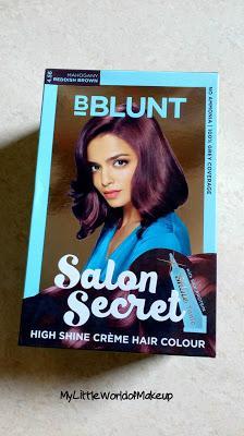 Bblunt salon secret hair color in mahogany review for Bblunt salon secret