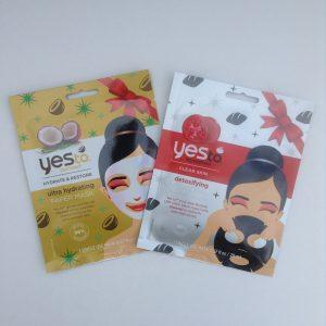 Yes To Single Use Holiday Paper Masks