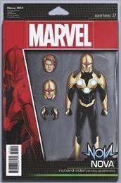 Nova #1 Cover - Christopher Action Figure Variant