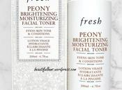Review: Fresh Peony Brightening Moisturizing Facial Toner