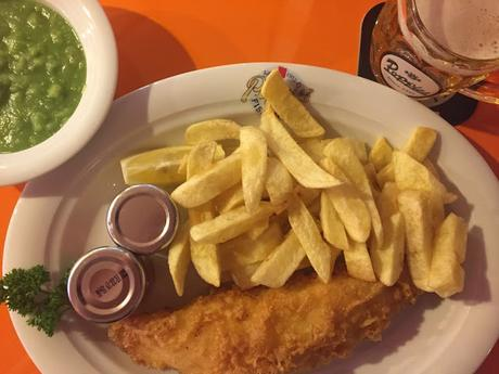 Excellent Fish & Chips At Poppies Old Compton Street @popsfishnchips