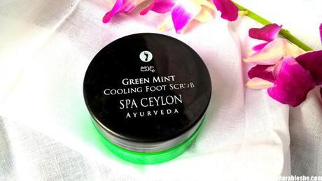 Spa Ceylon Green Mint Cooling Foot Scrub – My Feet Say's Yeah to this one