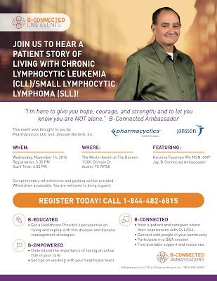Do you live near Austin and have CLL?
