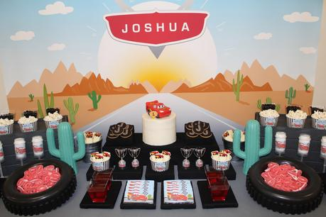 Cars themed party by Isabels Confetti