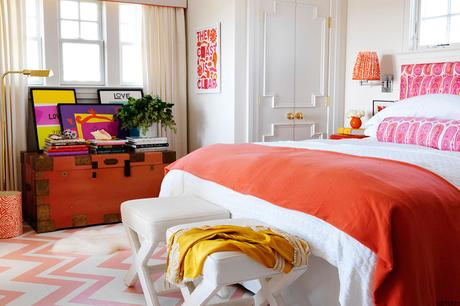 Stylish and Colorful Interiors
