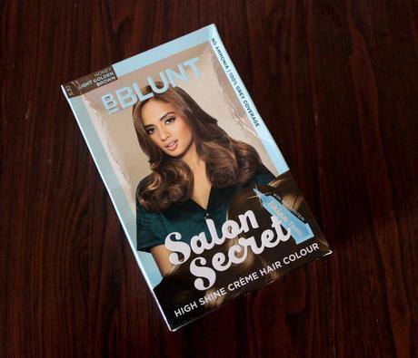 Bblunt salon secret high shine creme hair colour honey for Bblunt salon secret hair colour review
