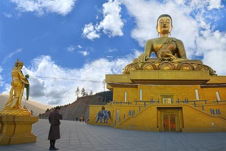 Kết quả hình ảnh cho buddha statue in bhutan
