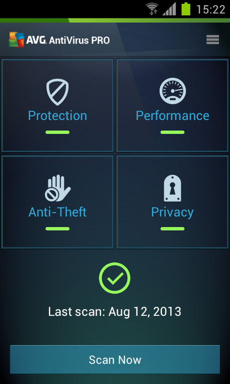 Mobile AntiVirus Security PRO - screenshot