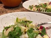 Fresh Fall Salad: Walnuts, Apples, Endive, Arugula