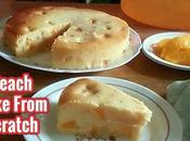 Peach Cake from Scratch Recipe
