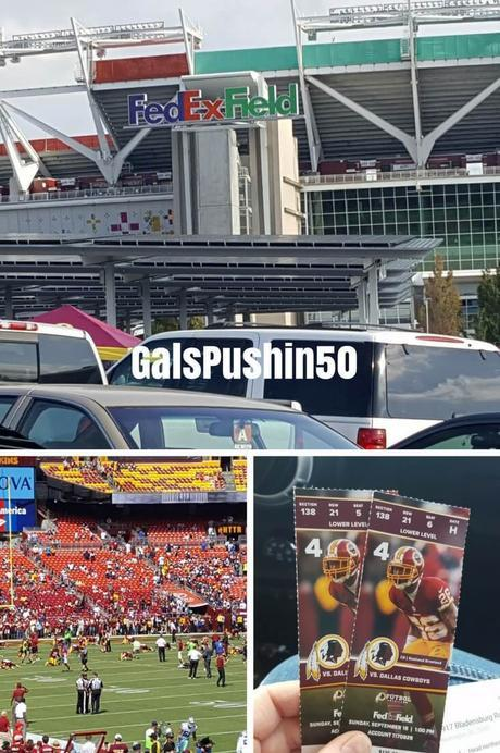 Are You and Your Spouse Competitive? A Day at FedEx Field.