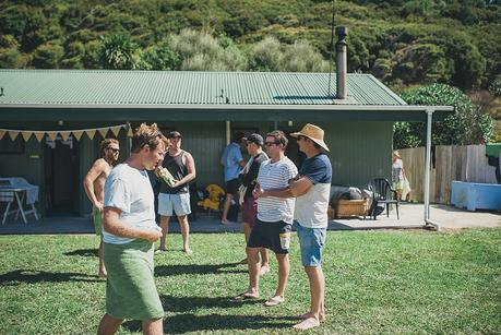 A Stylish Hawkes Bay Campground Wedding by Meredith Lord Photography