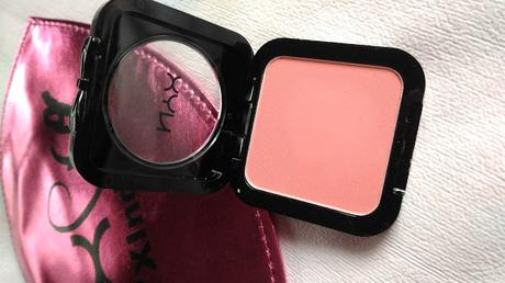 NYX HD BLUSH IN AMBER REVIEW